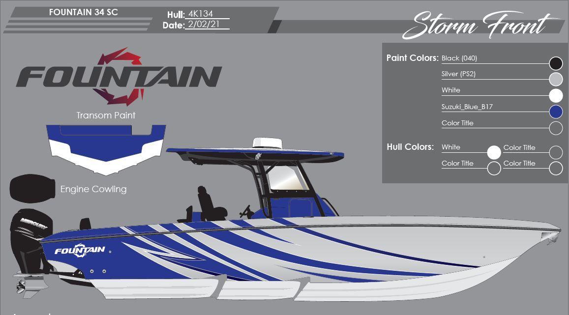 2022 Fountain 34 CC