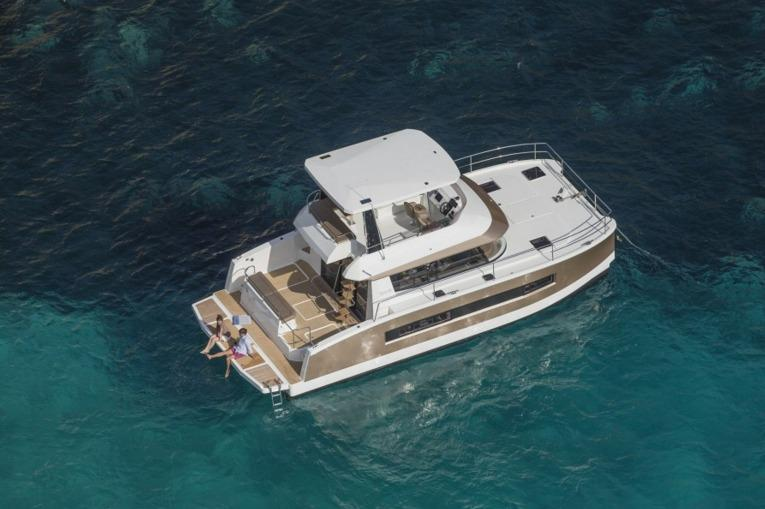 Fountaine Pajot MY 37 Aerial View