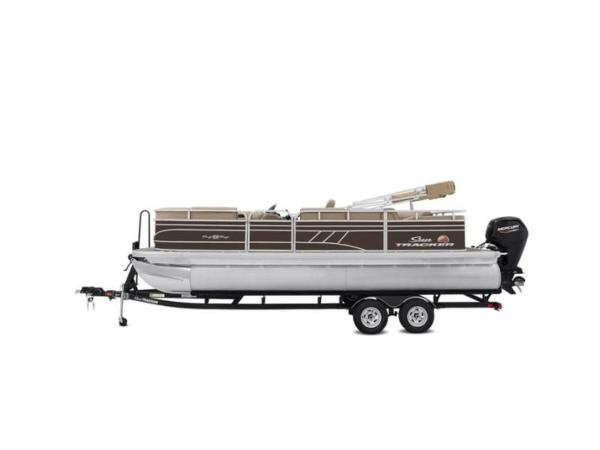 2022 Sun Tracker boat for sale, model of the boat is PARTY BARGE® 22 RF DLX & Image # 7 of 56