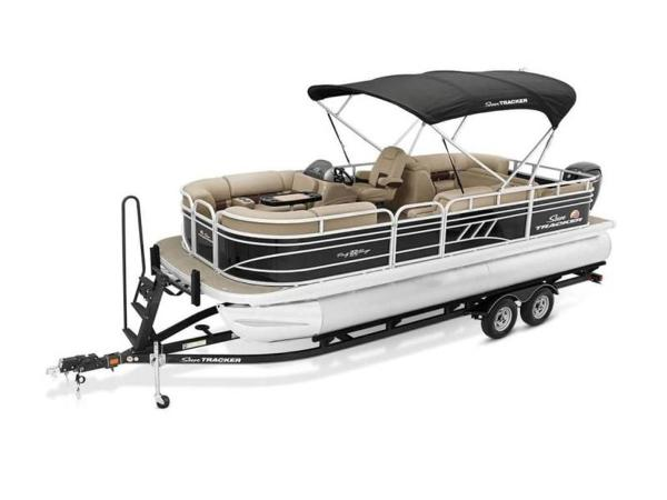 2022 Sun Tracker boat for sale, model of the boat is PARTY BARGE® 22 RF DLX & Image # 10 of 56