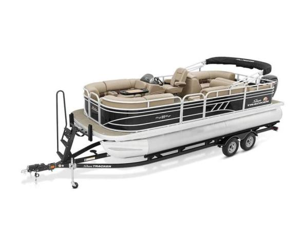 2022 Sun Tracker boat for sale, model of the boat is PARTY BARGE® 22 RF DLX & Image # 11 of 56