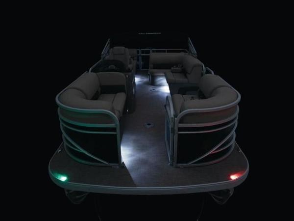 2022 Sun Tracker boat for sale, model of the boat is PARTY BARGE® 22 RF DLX & Image # 13 of 56