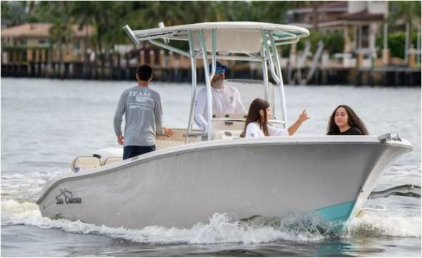 2021 Sea Chaser boat for sale, model of the boat is 22 HFC & Image # 2 of 5