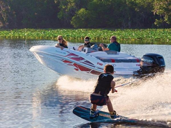 2022 Tahoe boat for sale, model of the boat is T16 & Image # 4 of 56