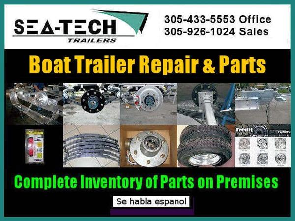 2021 SEA TECH offers Boat Trailer Repair and Parts Service image