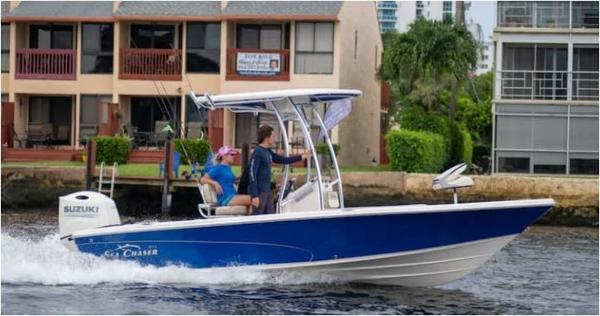 2021 Sea Chaser boat for sale, model of the boat is 21 LX & Image # 3 of 4