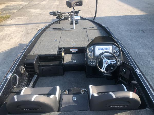 2021 Triton boat for sale, model of the boat is 20 TRX Patriot & Image # 9 of 35