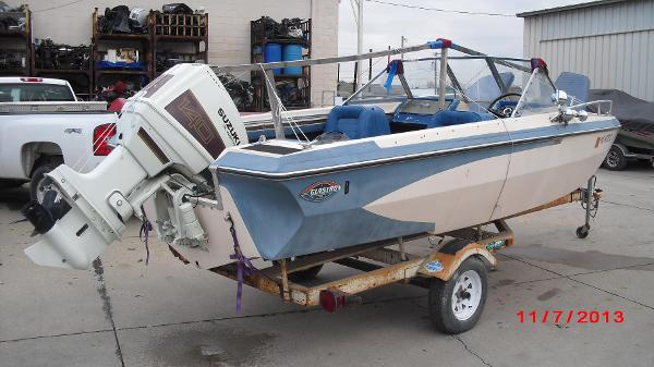 1972 Glastron boat for sale, model of the boat is 176 BOWRIDER & Image # 13 of 23