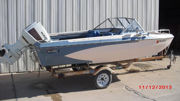 1972 Glastron boat for sale, model of the boat is 176 BOWRIDER & Image # 1 of 23
