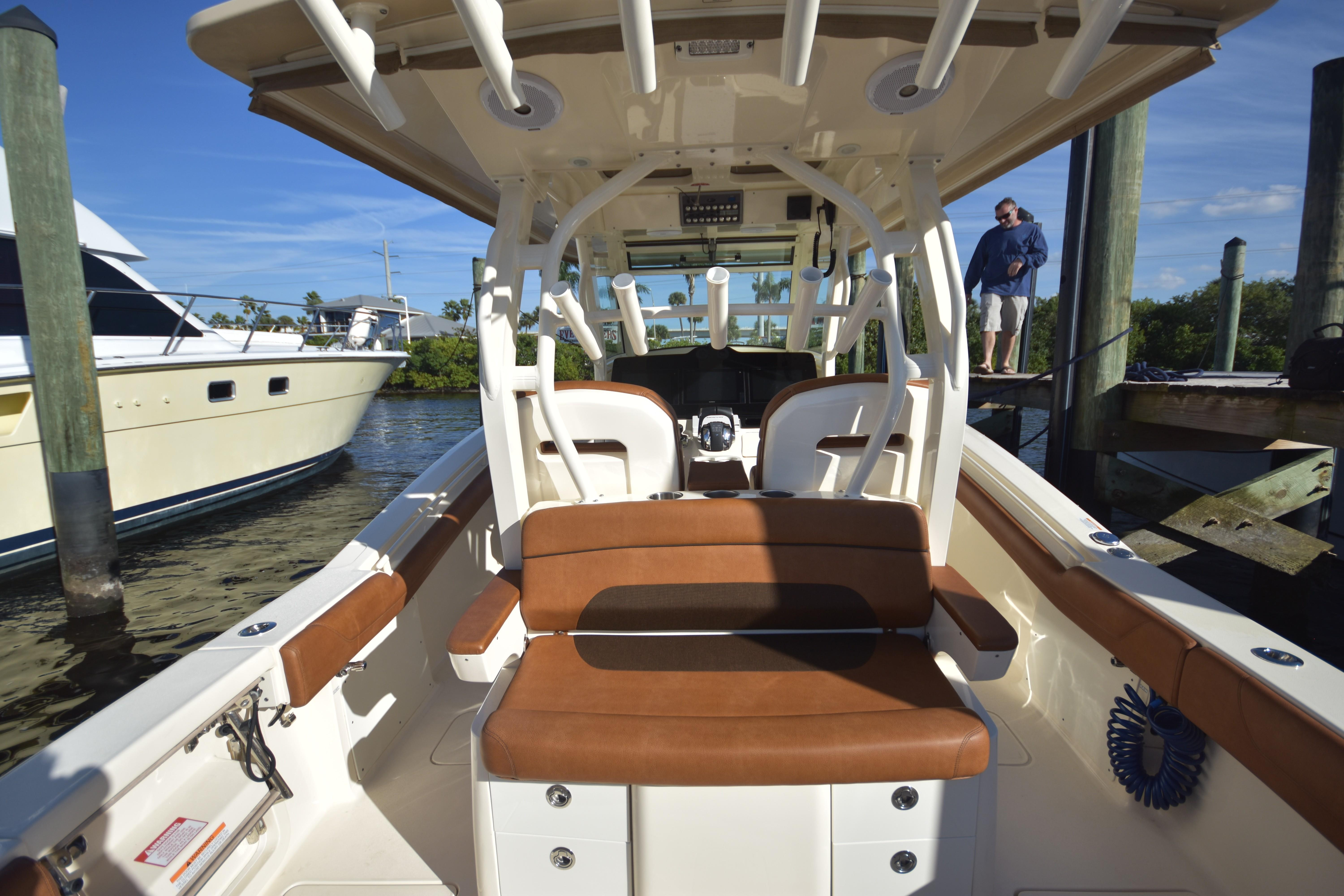 2017 Scout 350 XLF Bow Seating Area