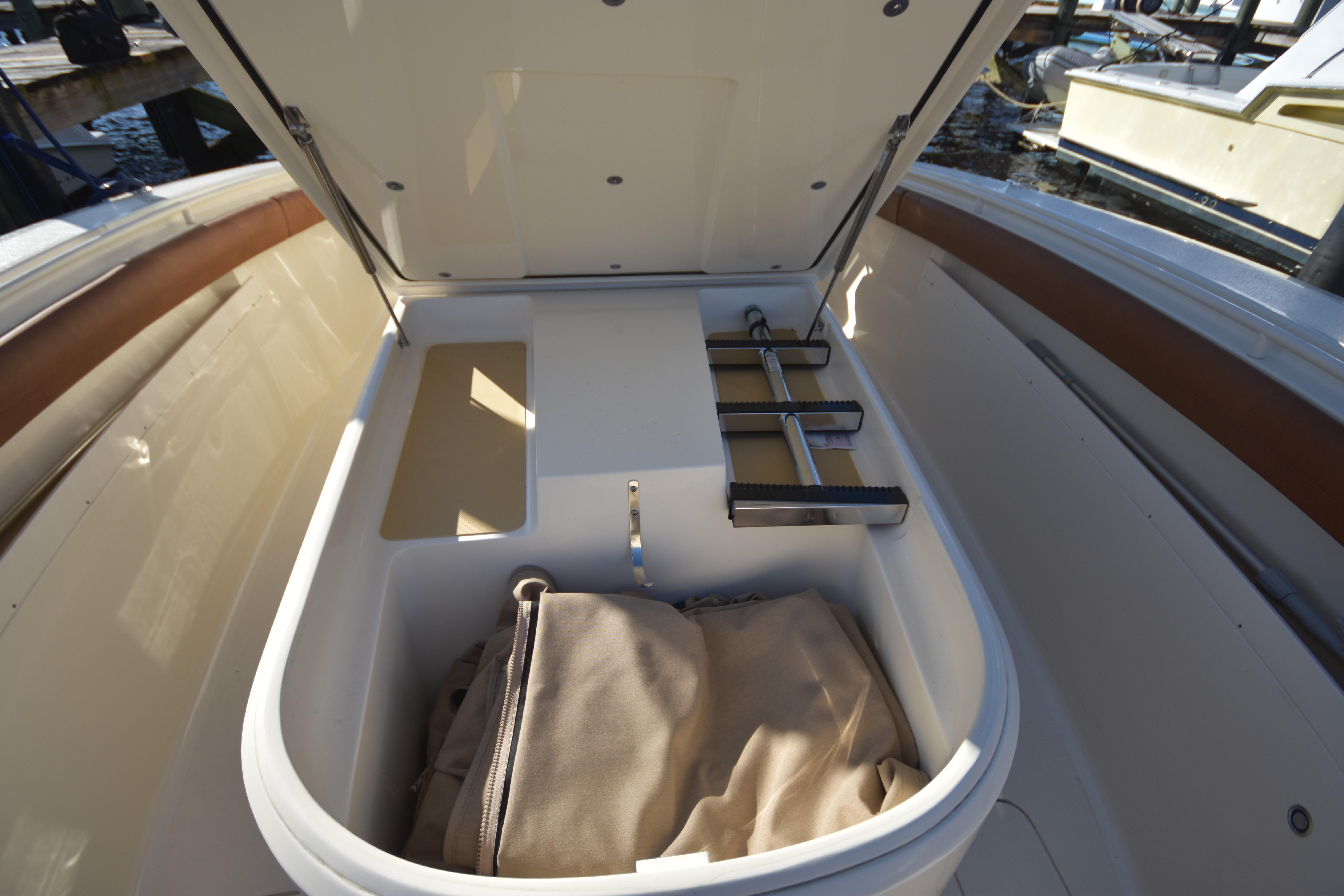 2017 Scout 350 XLF Bow Storage Area
