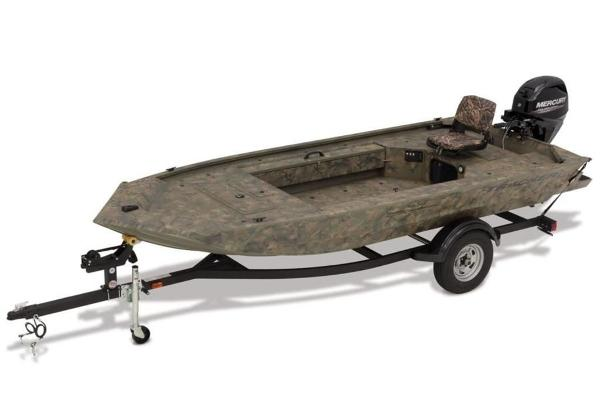 2020 Tracker Boats boat for sale, model of the boat is GRIZZLY® 1654 T Sportsman & Image # 1 of 17