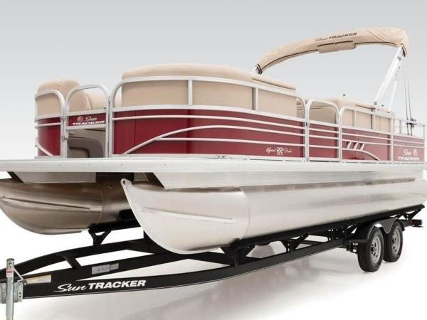 2022 Sun Tracker boat for sale, model of the boat is SportFish™ 22 DLX & Image # 16 of 55