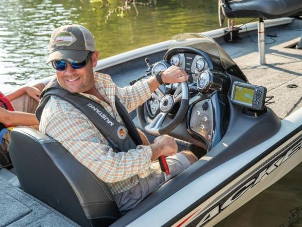 2021 Tracker Boats boat for sale, model of the boat is Pro Team 175 TXW® Tournament Ed. & Image # 30 of 50