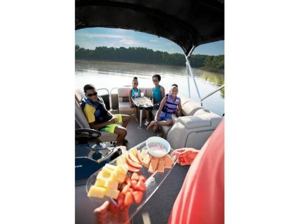 2022 Sun Tracker boat for sale, model of the boat is PARTY BARGE® 20 DLX & Image # 7 of 45
