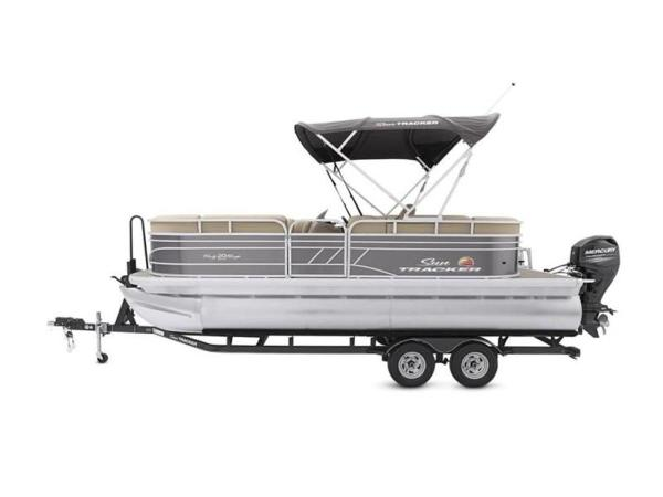 2022 Sun Tracker boat for sale, model of the boat is PARTY BARGE® 20 DLX & Image # 22 of 45