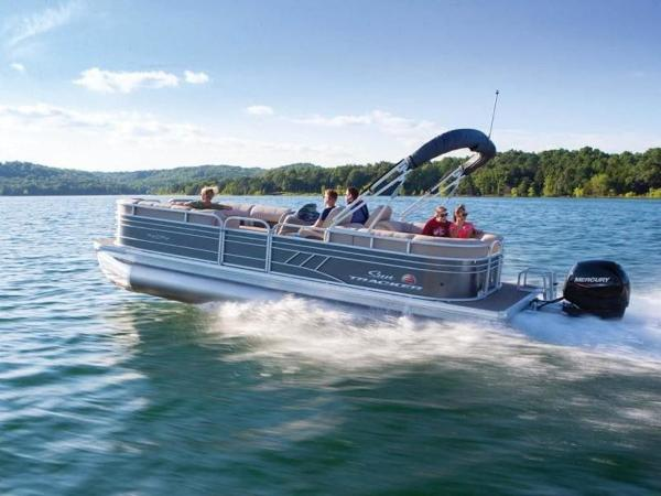 2022 Sun Tracker boat for sale, model of the boat is PARTY BARGE® 24 DLX & Image # 46 of 59