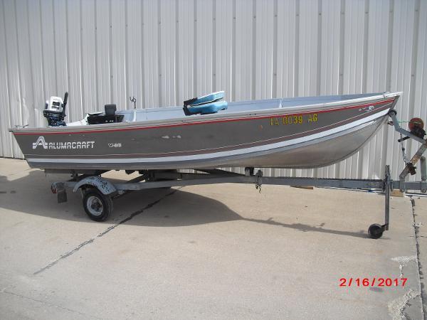 1993 Alumacraft boat for sale, model of the boat is 14' V & Image # 7 of 12