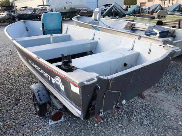1993 Alumacraft boat for sale, model of the boat is 14' V & Image # 10 of 12