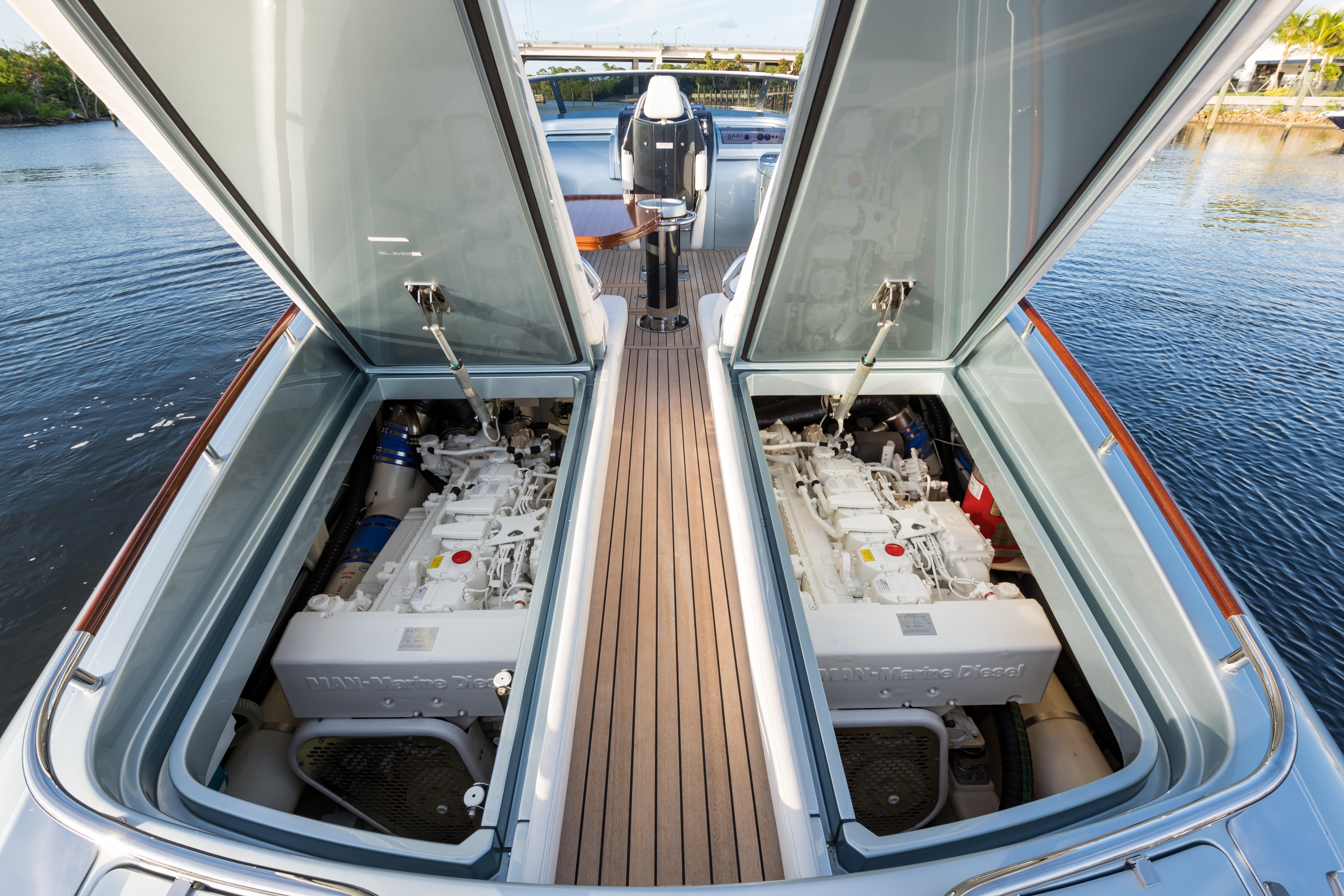 2014 44' Riva Engine Access