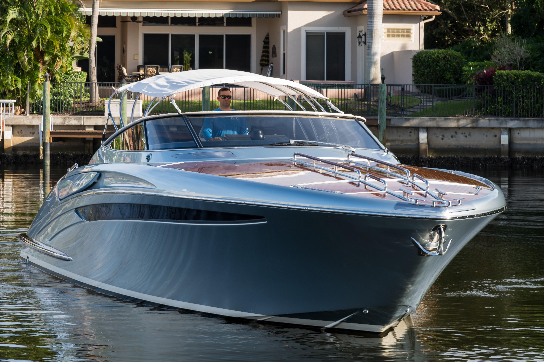 2014 44' Riva Bow Profile With Bimini Top