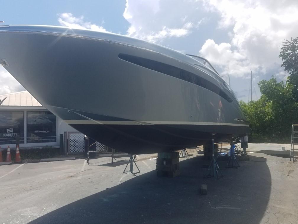 2014 44' Riva Complete Bottom Job (September 2018)