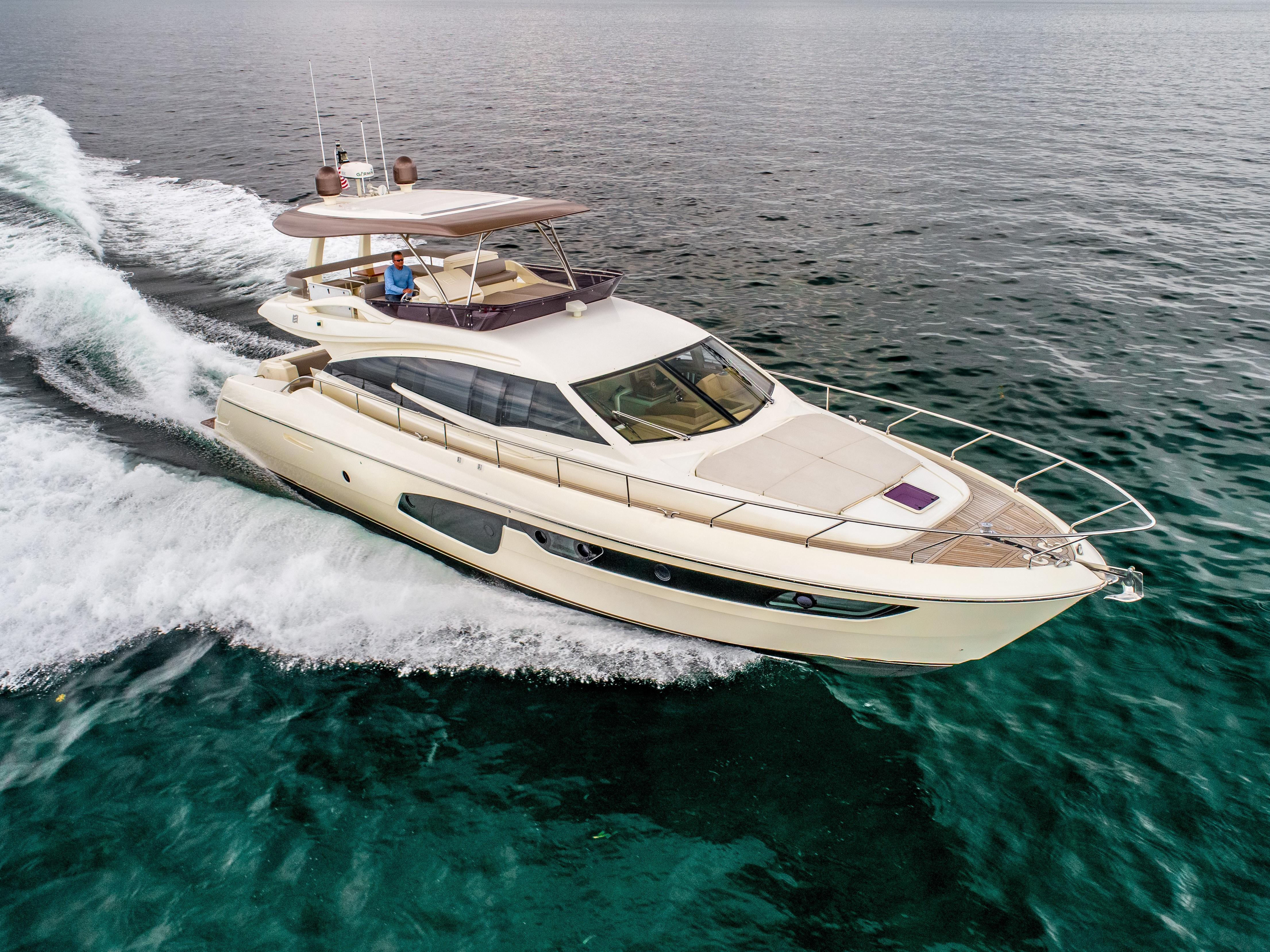 Ferretti 650 - Running Profile