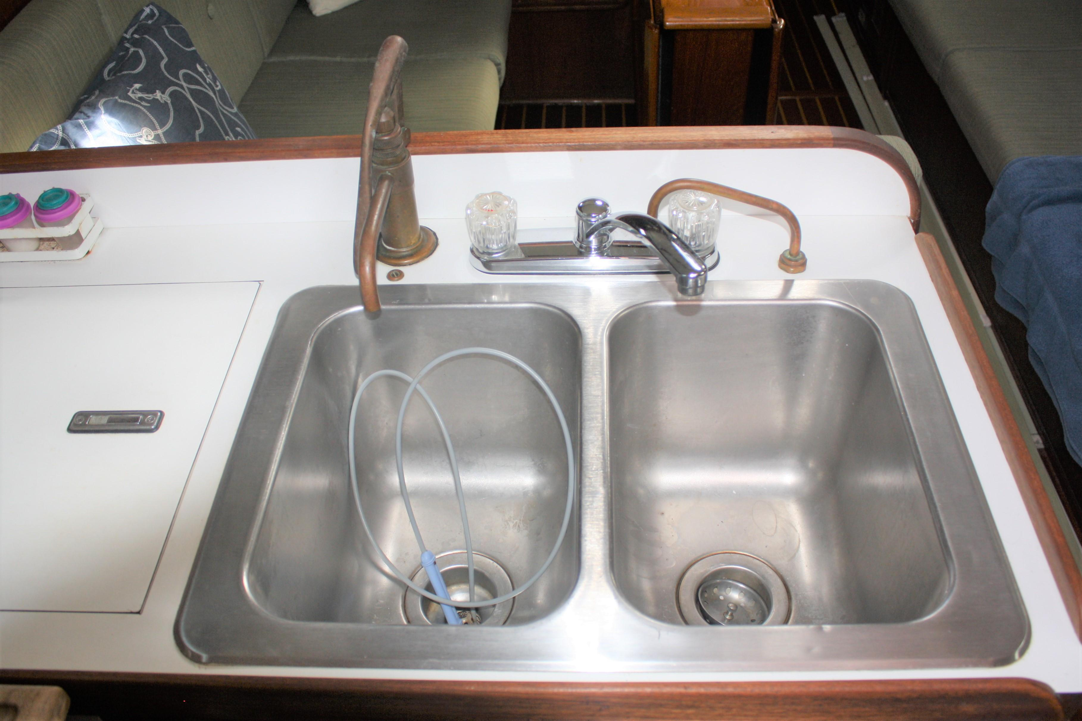 Double Galley Sink