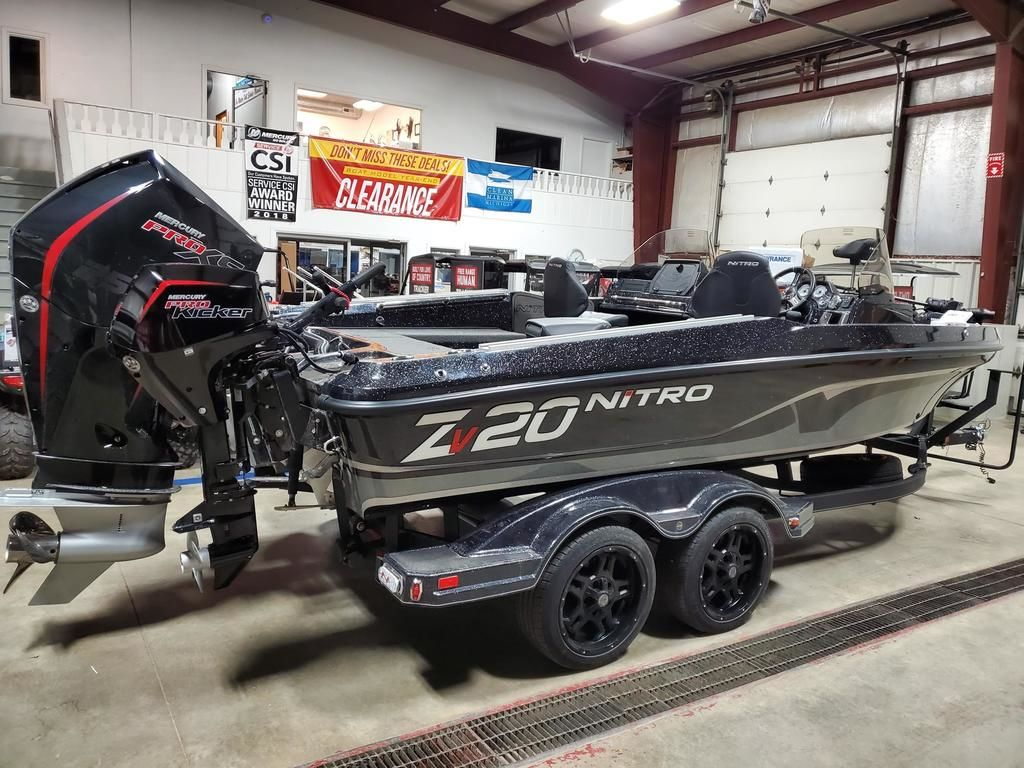 2020 Nitro boat for sale, model of the boat is ZV20 Pro & Image # 4 of 10