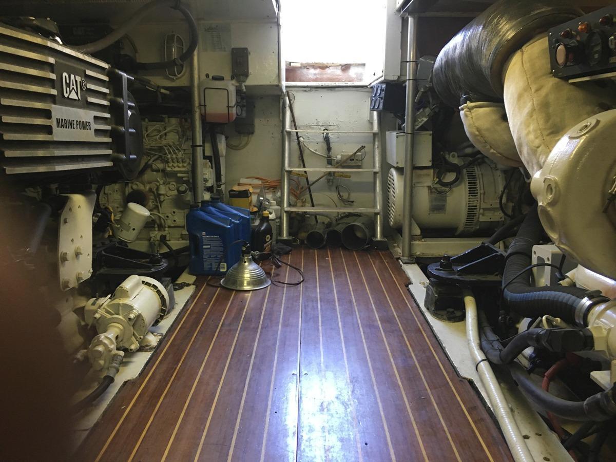 Engine room entry