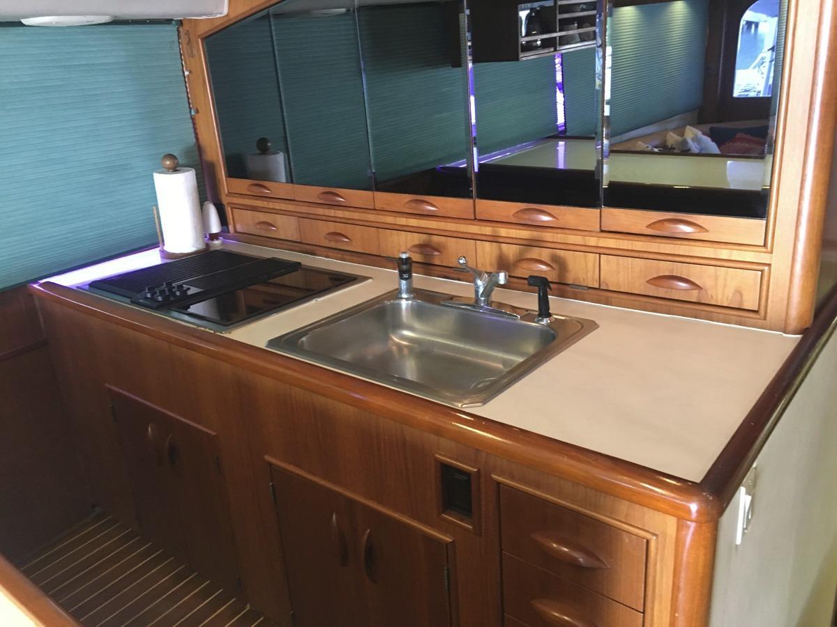Sink counter rangetop