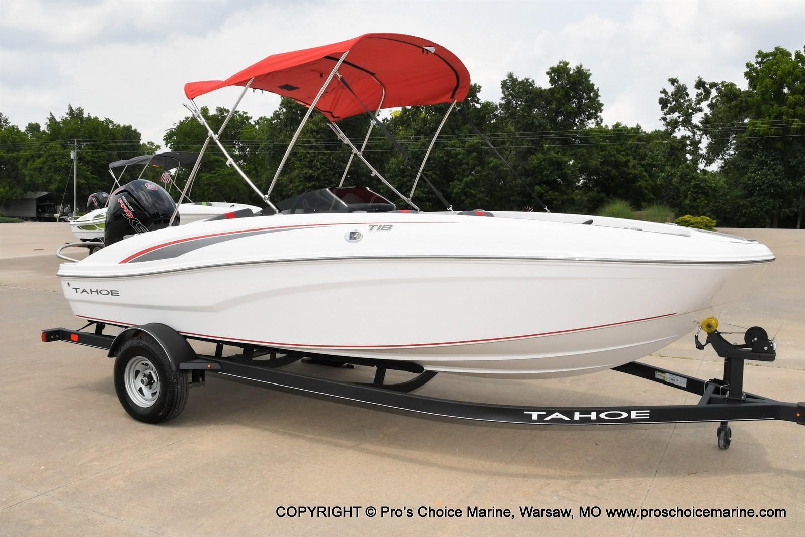 2022 Tahoe boat for sale, model of the boat is T18 w/115HP Mercury Pro-XS 4 Stroke & Image # 1 of 50