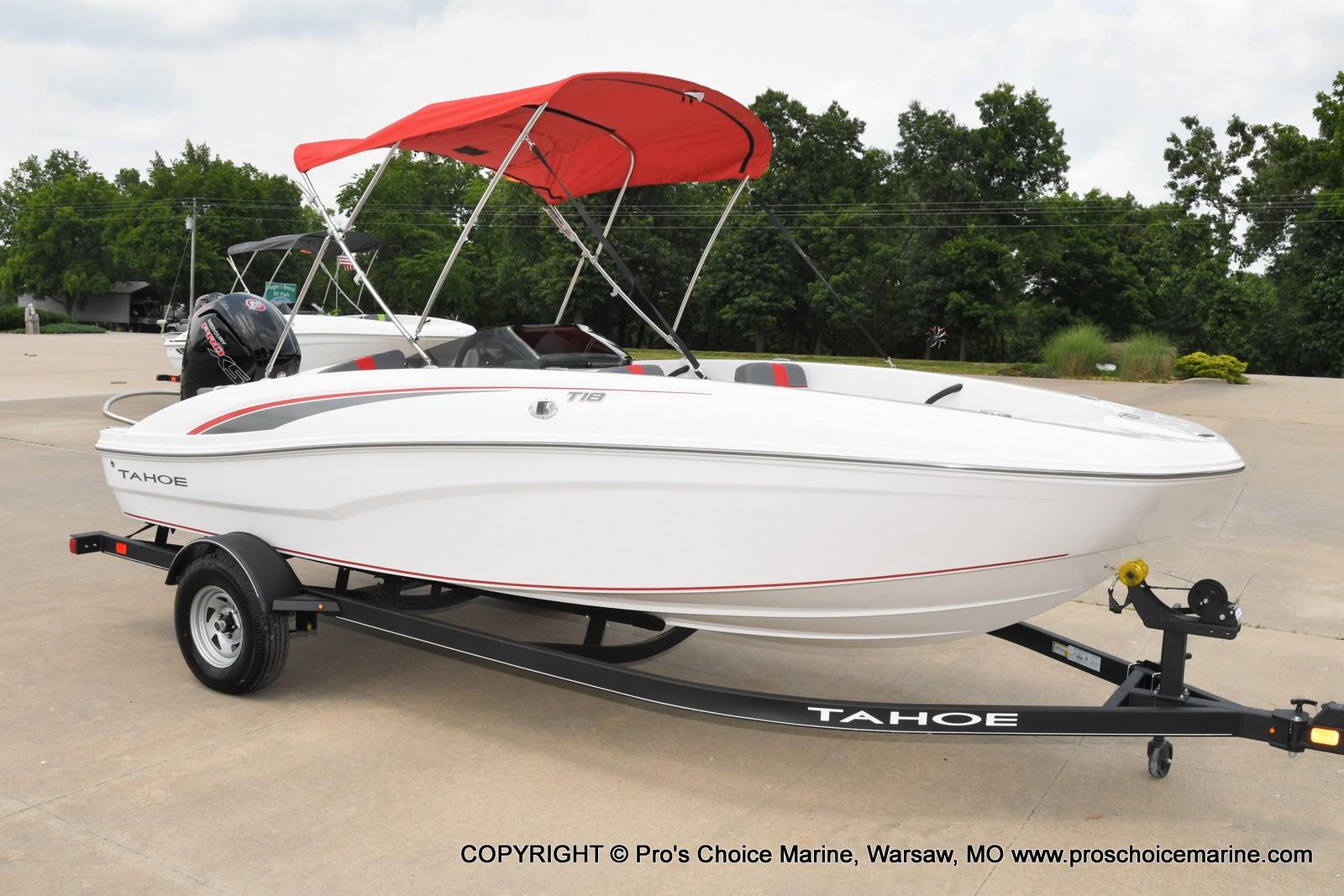 2022 Tahoe boat for sale, model of the boat is T18 w/115HP Mercury Pro-XS 4 Stroke & Image # 25 of 50