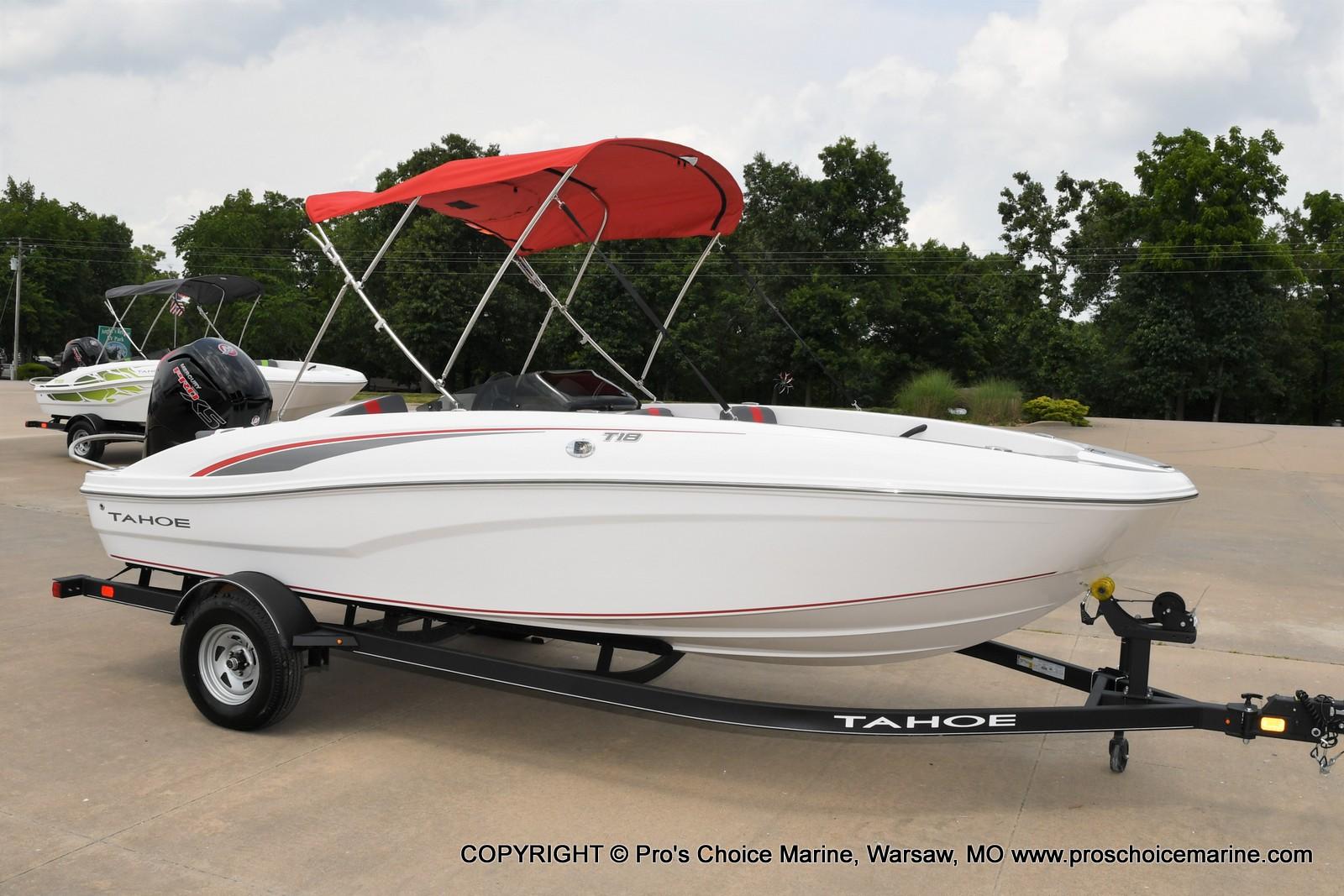 2022 Tahoe boat for sale, model of the boat is T18 w/115HP Mercury Pro-XS 4 Stroke & Image # 38 of 50
