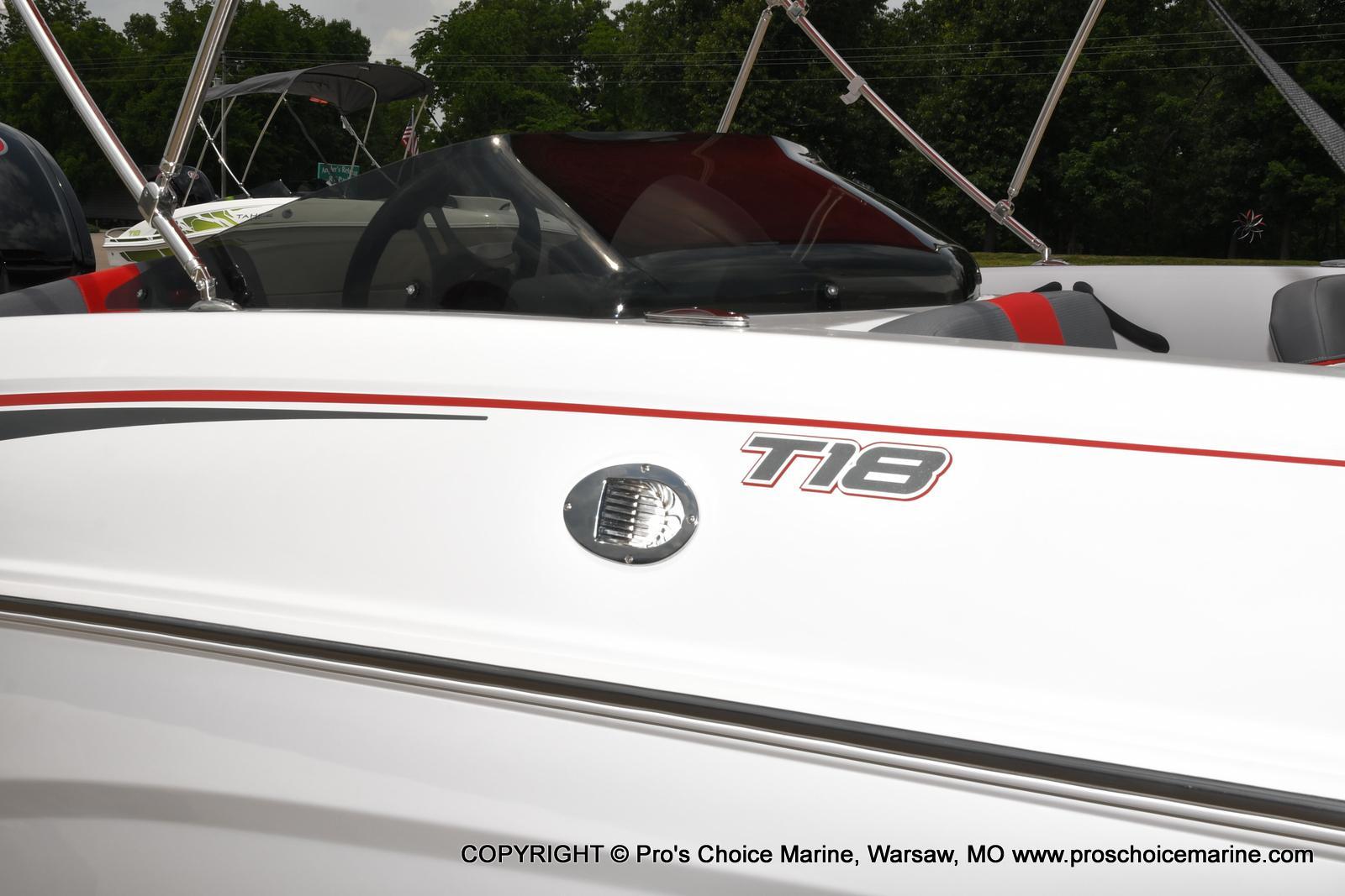 2022 Tahoe boat for sale, model of the boat is T18 w/115HP Mercury Pro-XS 4 Stroke & Image # 2 of 50