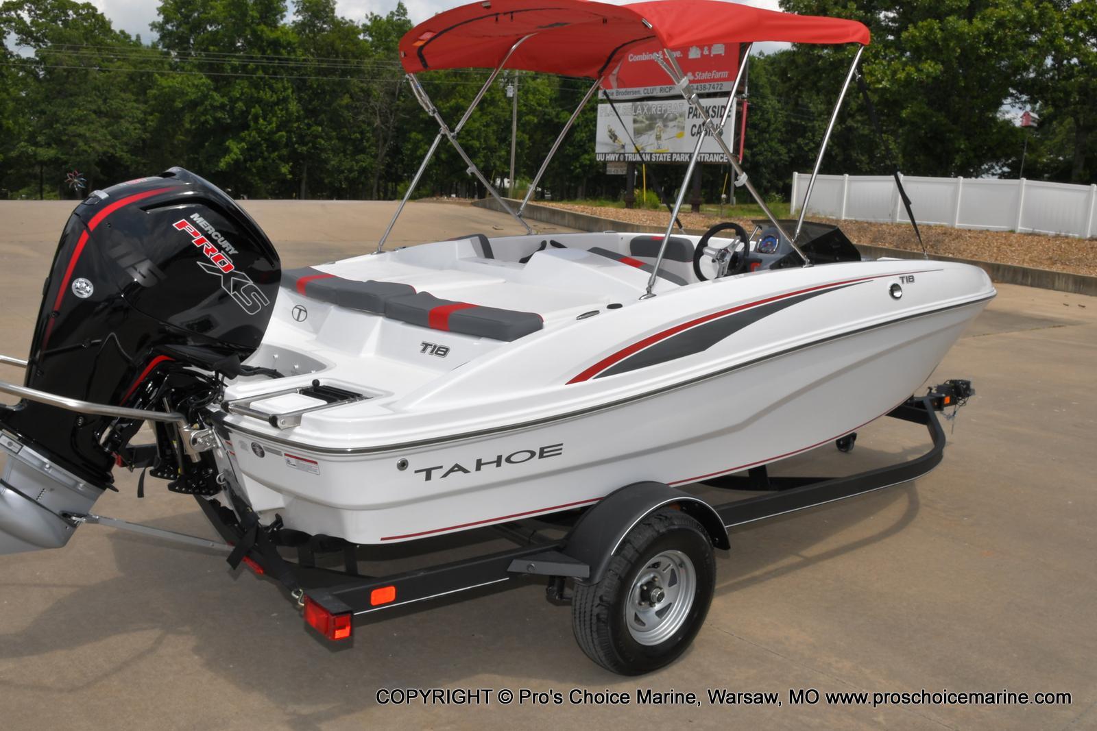2022 Tahoe boat for sale, model of the boat is T18 w/115HP Mercury Pro-XS 4 Stroke & Image # 3 of 50