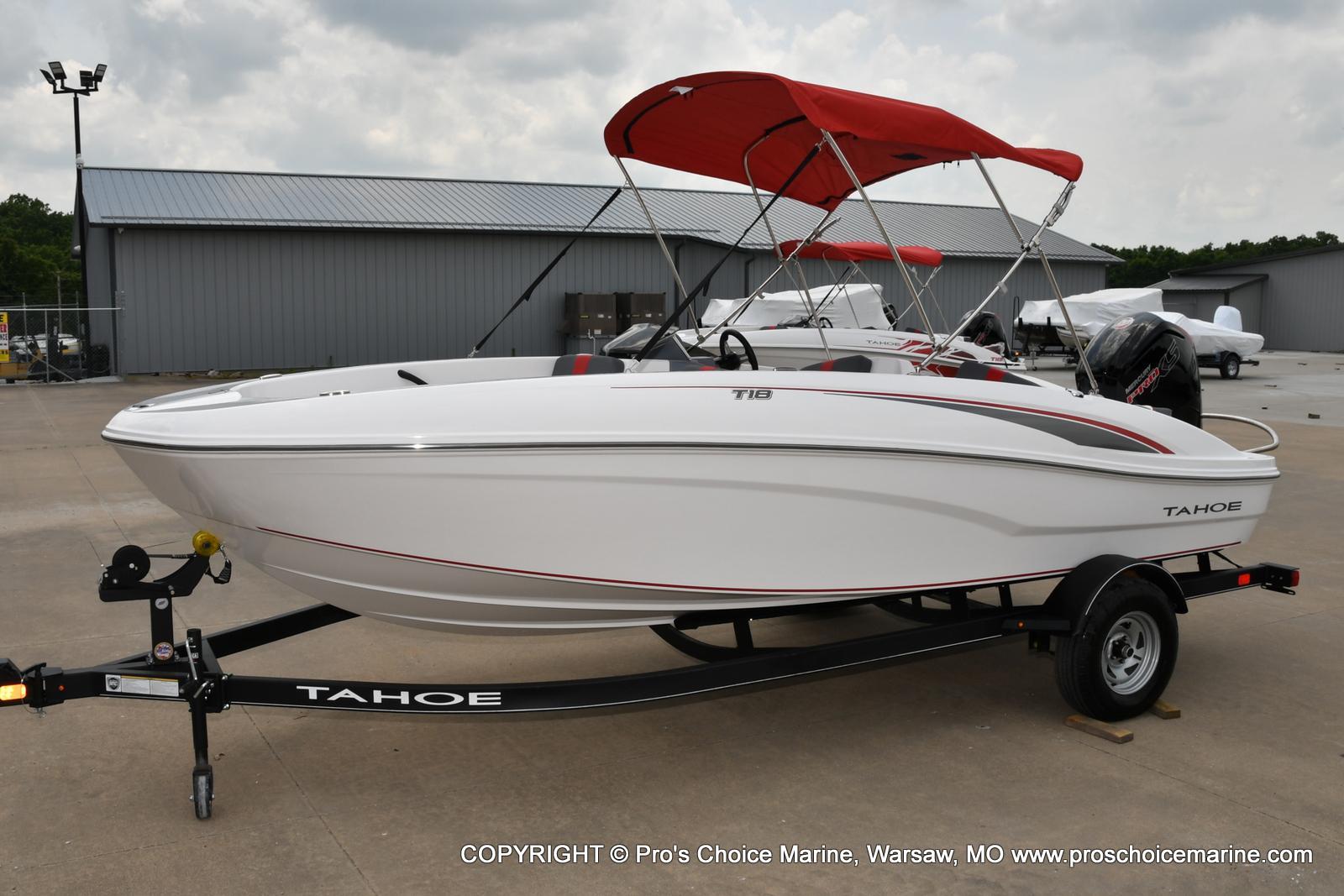 2022 Tahoe boat for sale, model of the boat is T18 w/115HP Mercury Pro-XS 4 Stroke & Image # 4 of 50