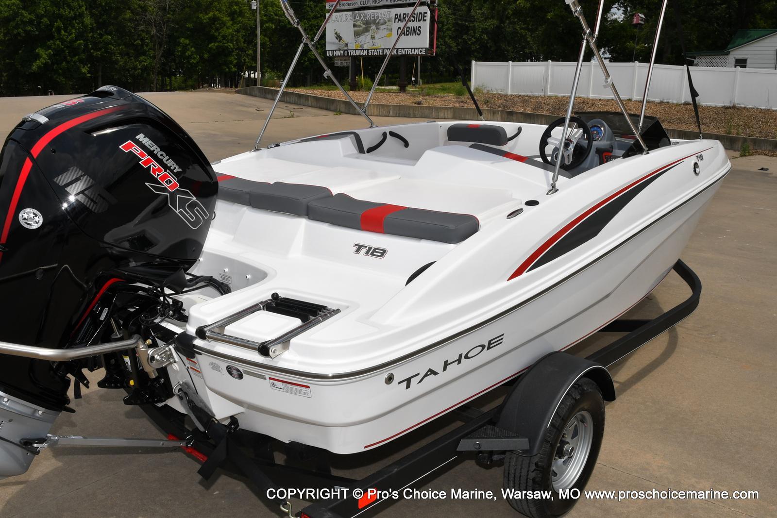 2022 Tahoe boat for sale, model of the boat is T18 w/115HP Mercury Pro-XS 4 Stroke & Image # 14 of 50