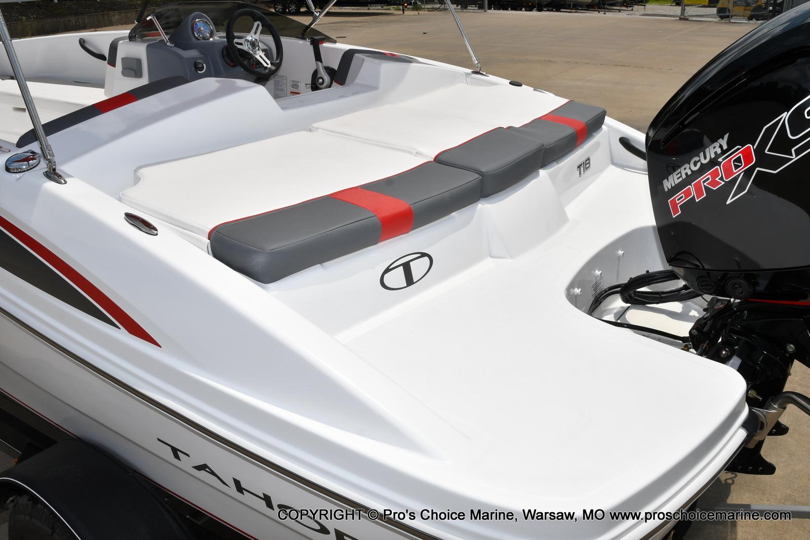 2022 Tahoe boat for sale, model of the boat is T18 w/115HP Mercury Pro-XS 4 Stroke & Image # 28 of 50