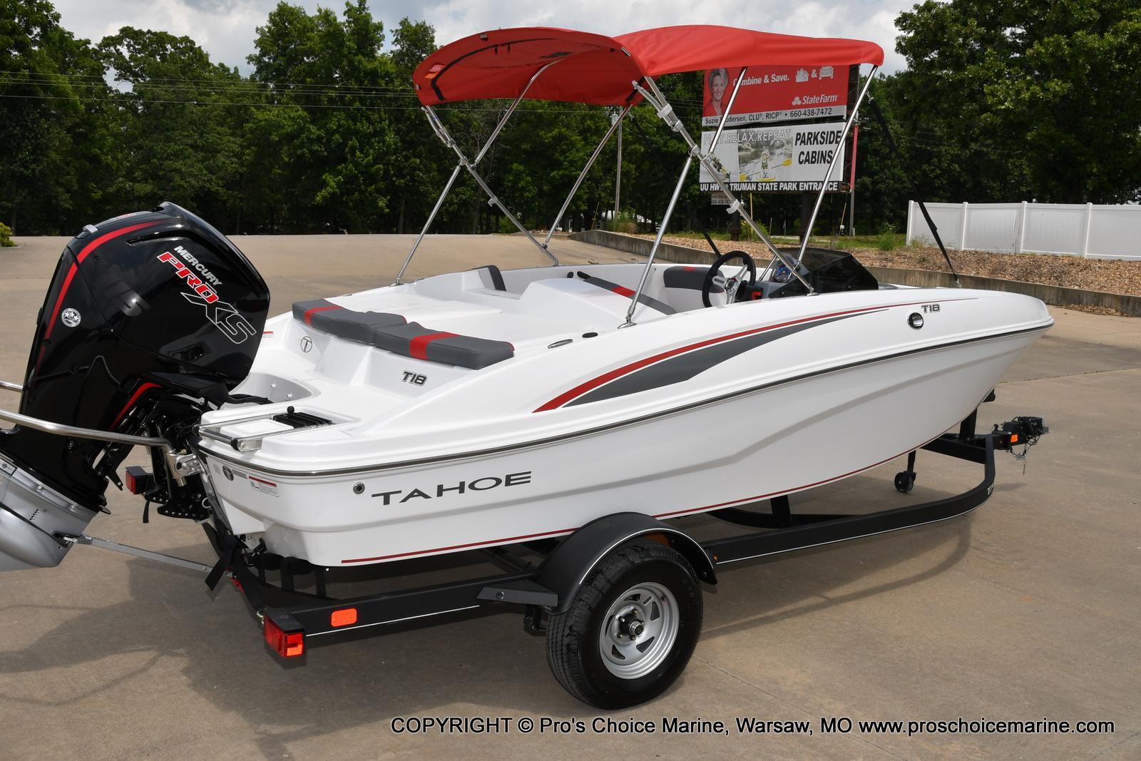 2022 Tahoe boat for sale, model of the boat is T18 w/115HP Mercury Pro-XS 4 Stroke & Image # 39 of 50