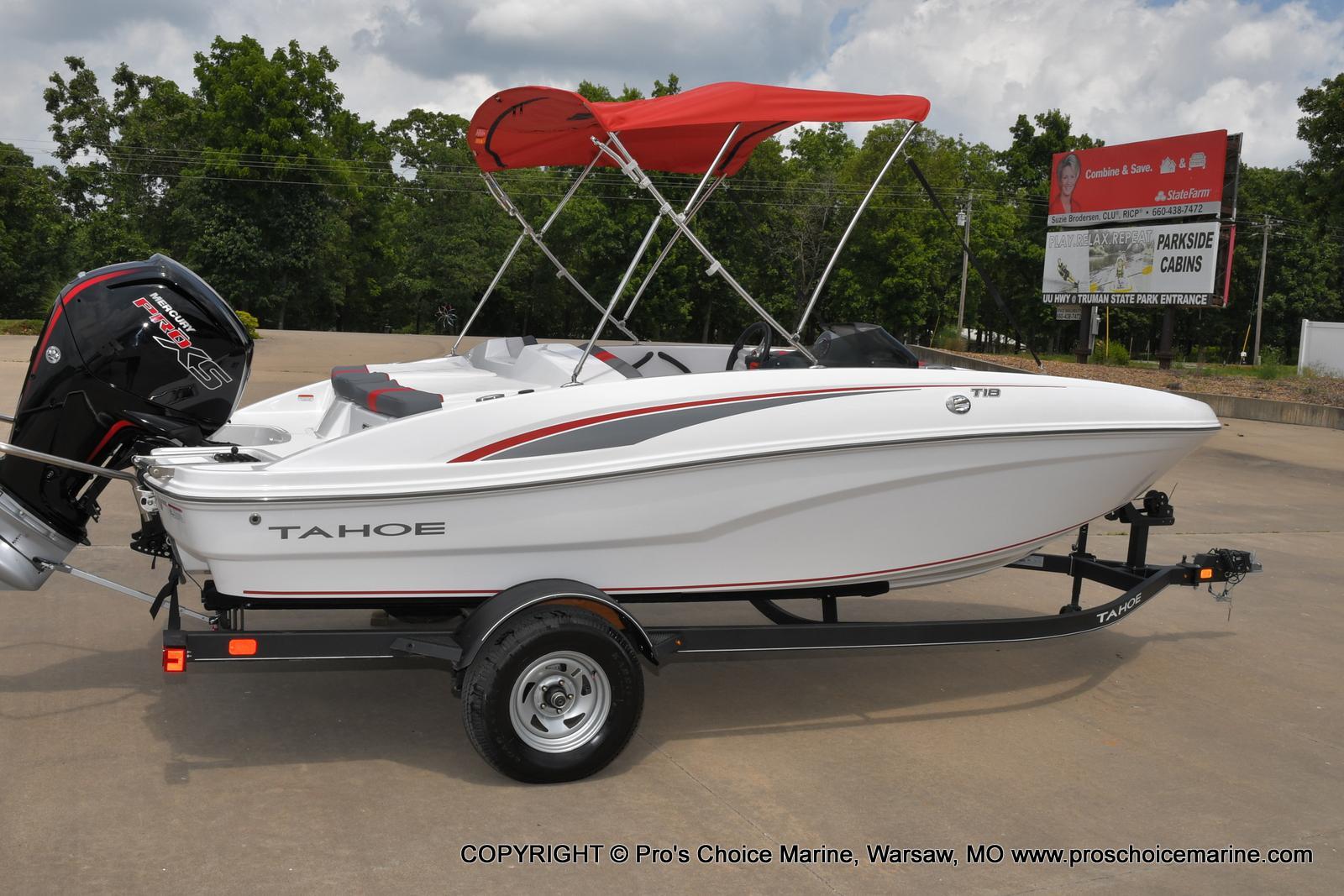 2022 Tahoe boat for sale, model of the boat is T18 w/115HP Mercury Pro-XS 4 Stroke & Image # 40 of 50