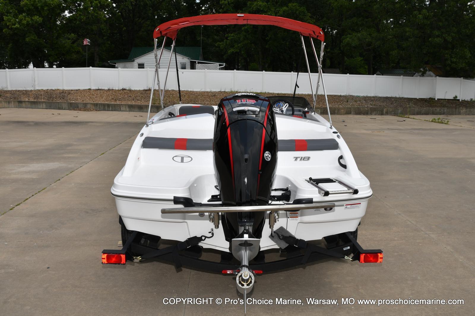 2022 Tahoe boat for sale, model of the boat is T18 w/115HP Mercury Pro-XS 4 Stroke & Image # 46 of 50