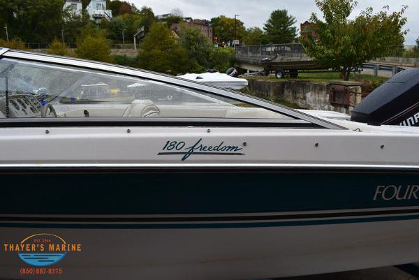 1993 Four Winns boat for sale, model of the boat is 180 Freedom & Image # 25 of 31