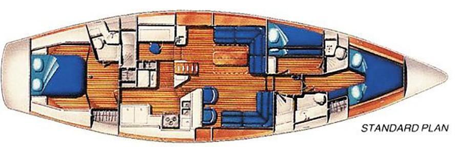 IRWIN 52 ARRANGEMENT PLAN