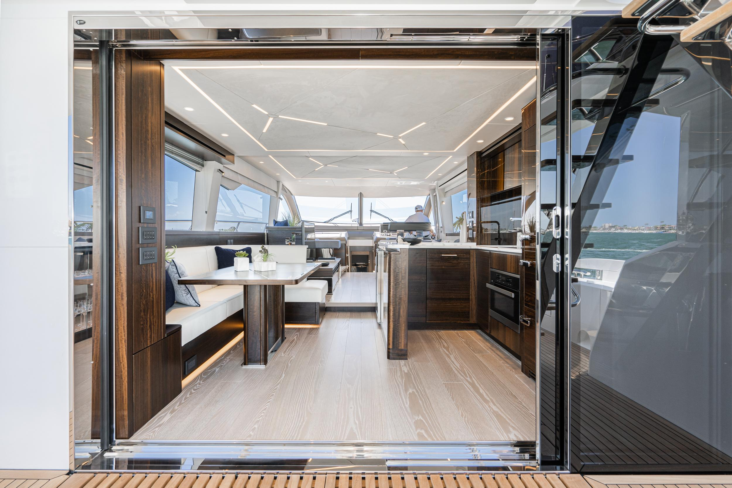 2021 Sunseeker Manhattan 68 #SS620 inventory image at Sun Country Yachts in Newport Beach
