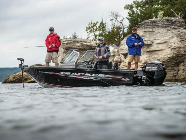 2021 Tracker Boats boat for sale, model of the boat is Pro Guide™ V-165 WT & Image # 34 of 41