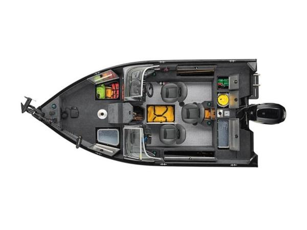 2021 Tracker Boats boat for sale, model of the boat is Pro Guide™ V-165 WT & Image # 40 of 41