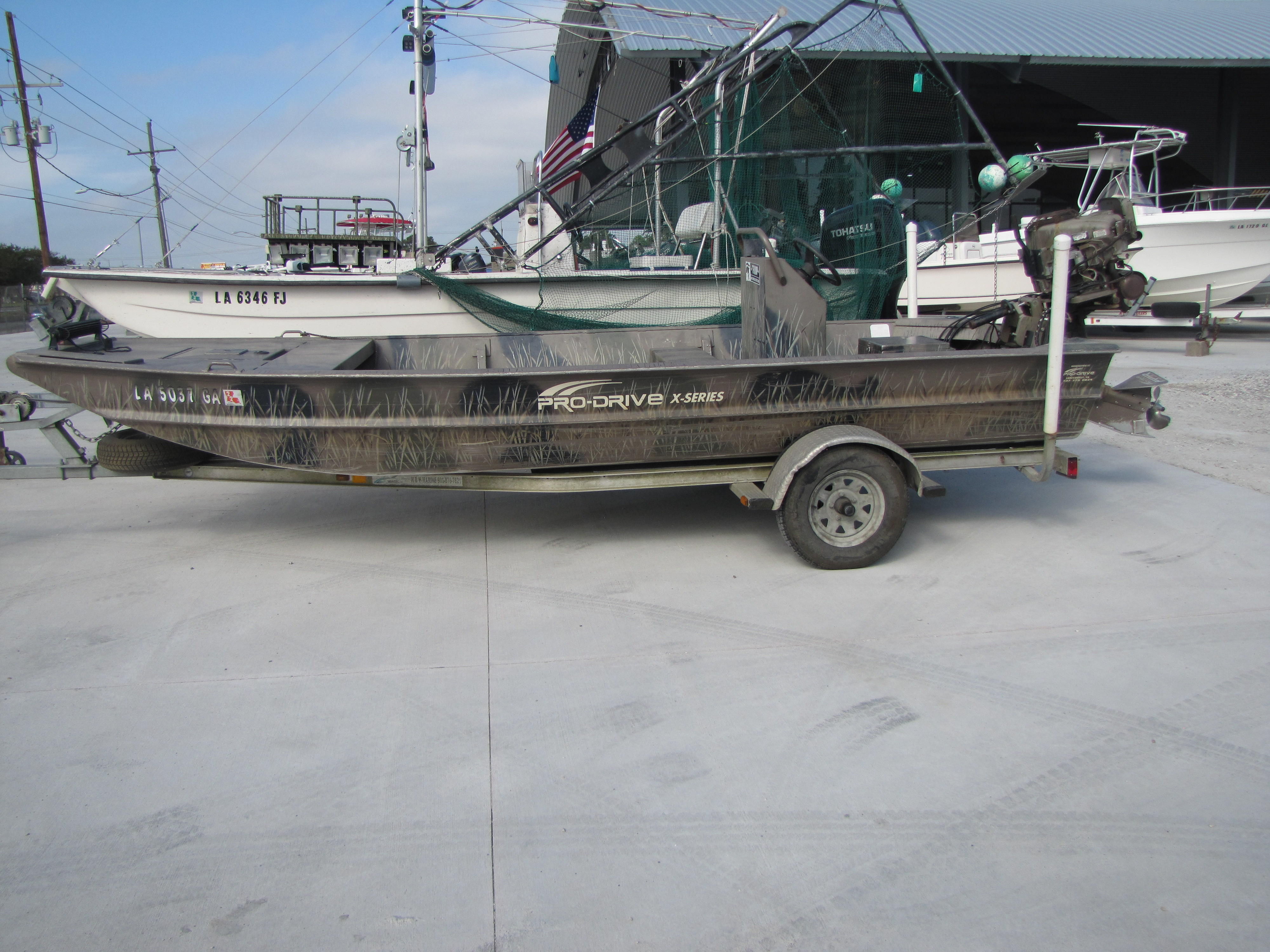 2013 Pro-Drive boat for sale, model of the boat is 1754 & Image # 1 of 13