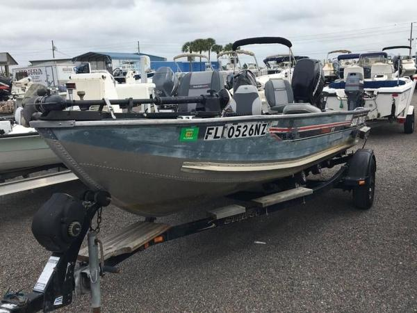 1987 Tracker Boats boat for sale, model of the boat is Tournament 17 & Image # 1 of 8