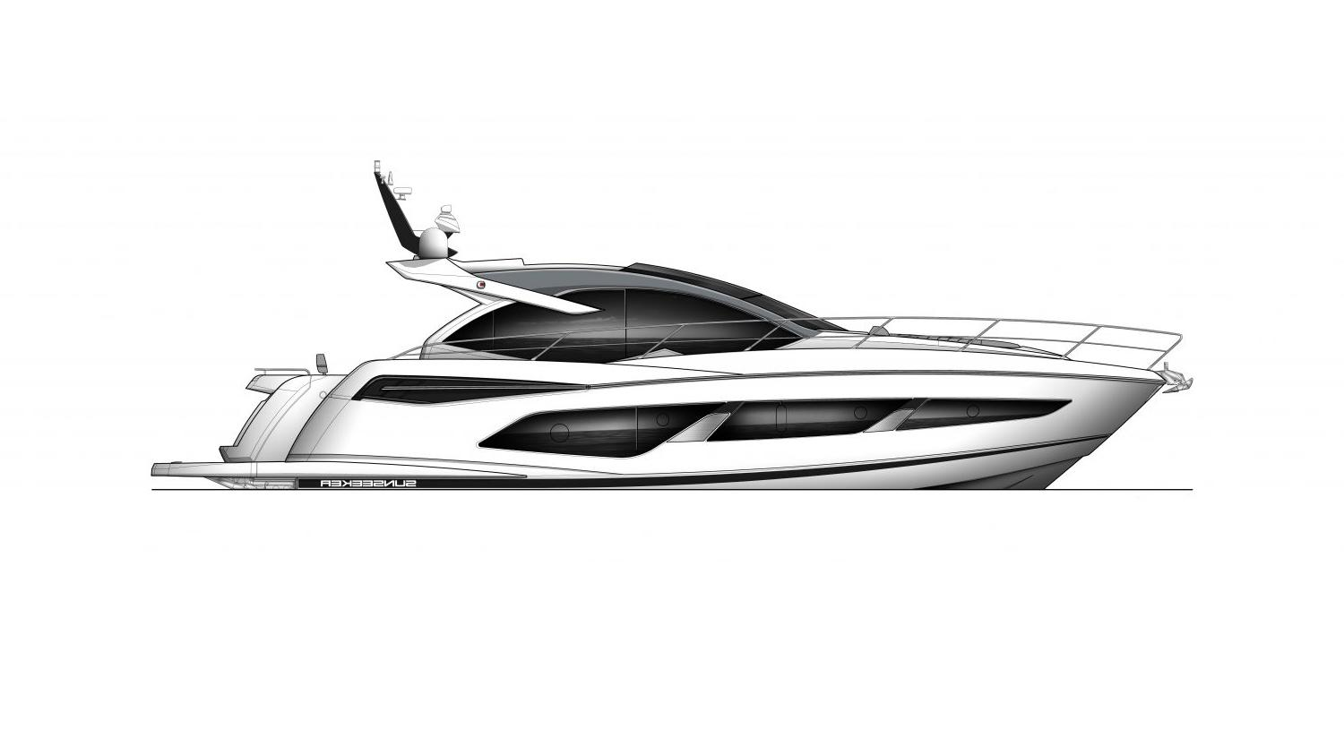 2022 Sunseeker Predator 55 EVO #SS522 inventory image at Sun Country Coastal in Newport Beach